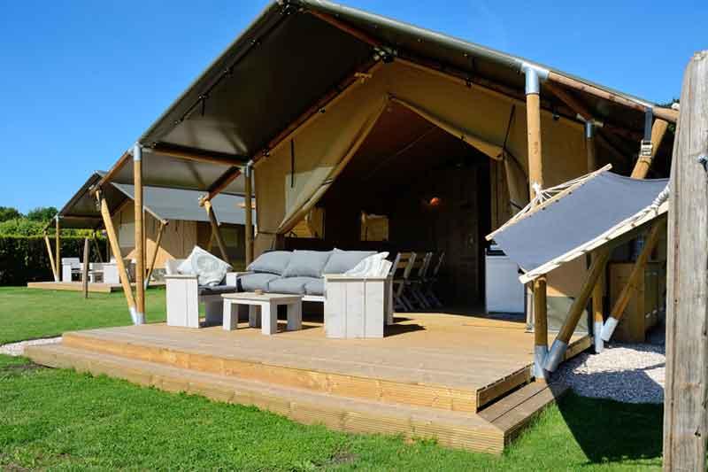 Camping ketjil oostvoorne - Te vergroten zijn huis met een veranda ...